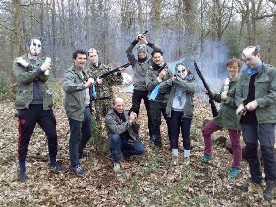 Team Building Battle Royal Nomade