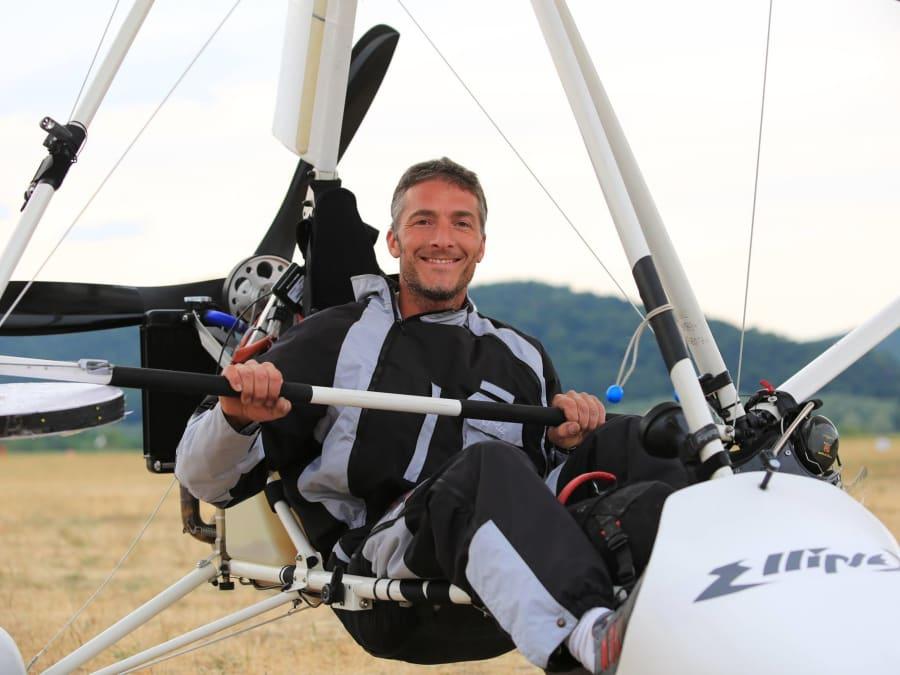 Initiation au pilotage d'ULM à Ambert en Auvergne (63)