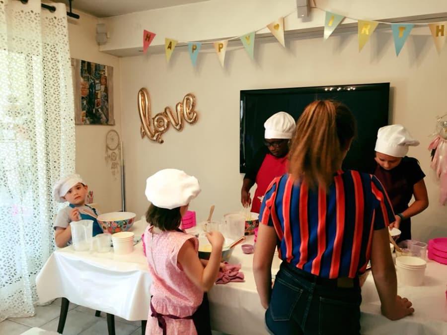 Anniversaire Pâtisserie 5-16 ans à domicile (IDF)