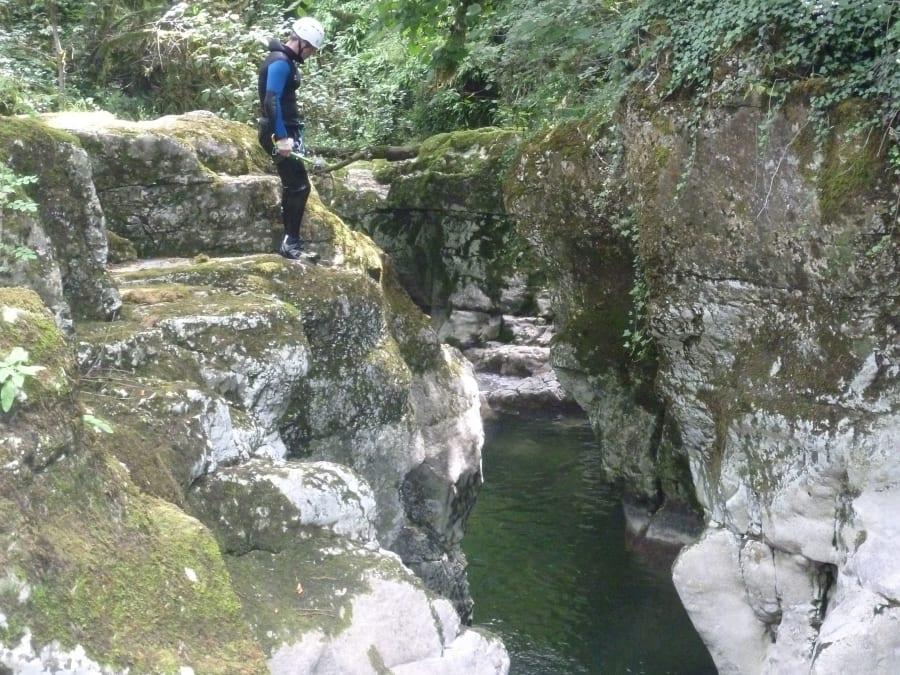 Canyoning du Groin sur l'Arvière (01)