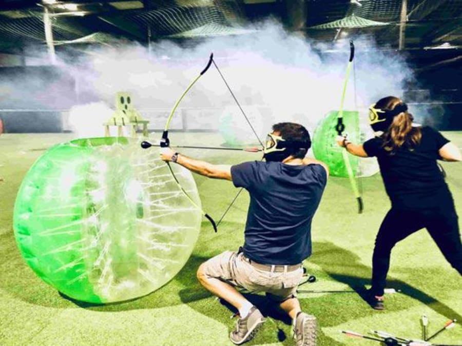 Archery tag adultes et enfants à Annecy, Haute-Savoie (74)