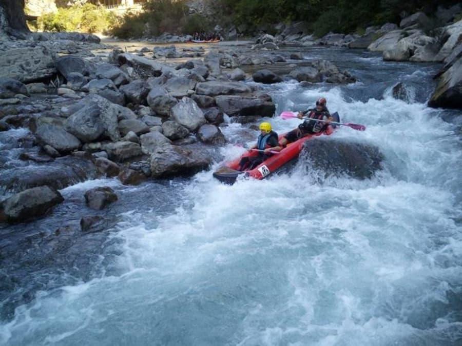 Journée découverte du Kayak-Raft près de Nice (06)