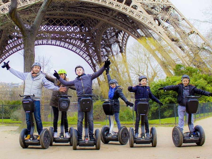 Visite privative de Paris à Segway
