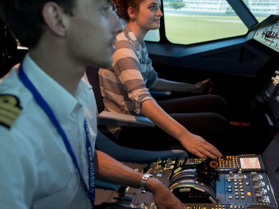 Stage anti-stress en avion sur simulateur à Toulouse