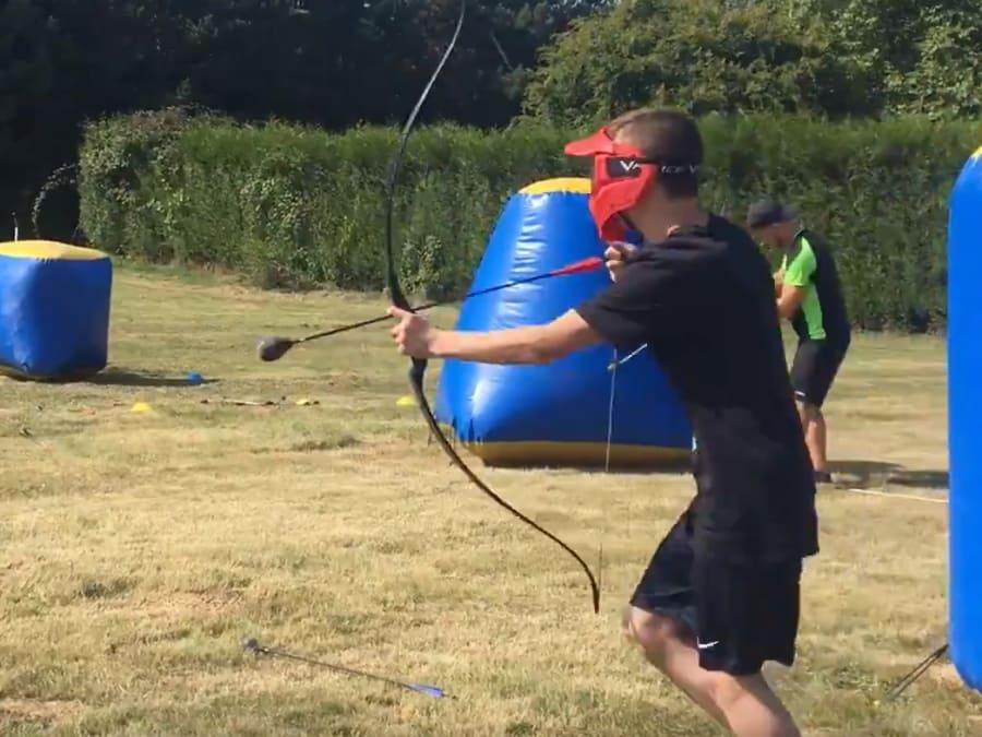 Anniversaire Archery Tag 9-18 ans à domicile ou dans un gymnase