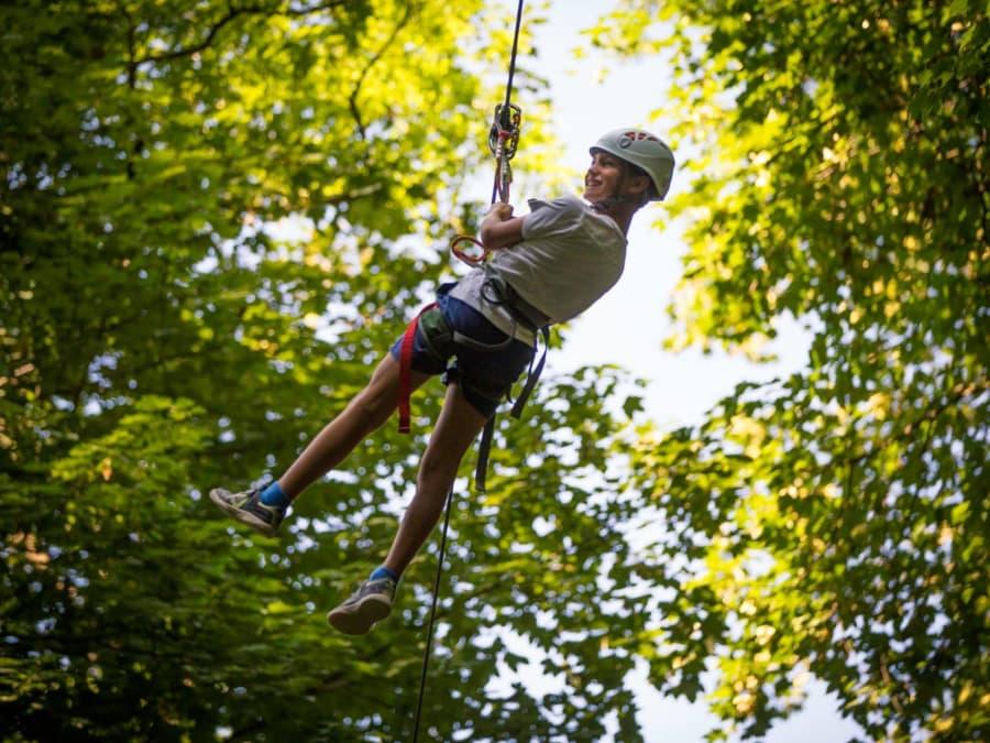 Anniversaire au parc accrobranche 8-18 ans à Rillieux-la-Pape