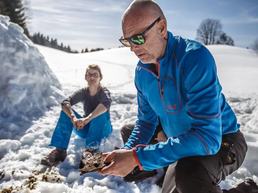 Stage de survie spécial Grand Froid dans le Jura