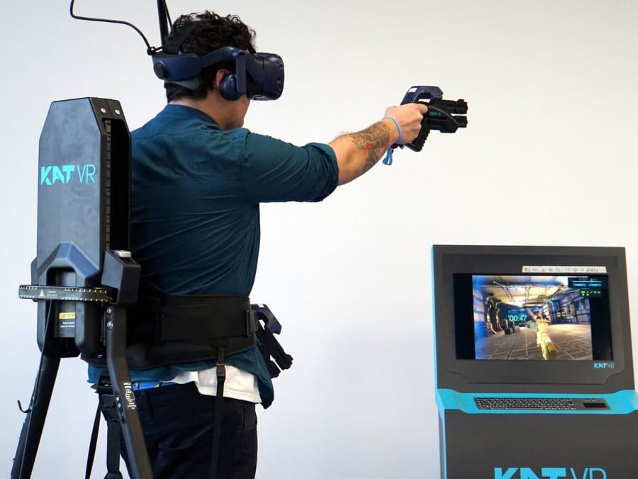 Expérience de Réalité Virtuelle en salle d'arcade à Bordeaux