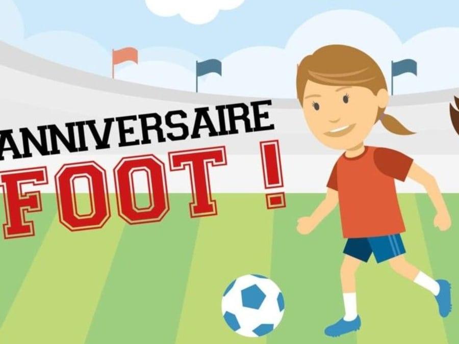 Anniversaire Foot 3-12 ans à domicile  (Occitanie)