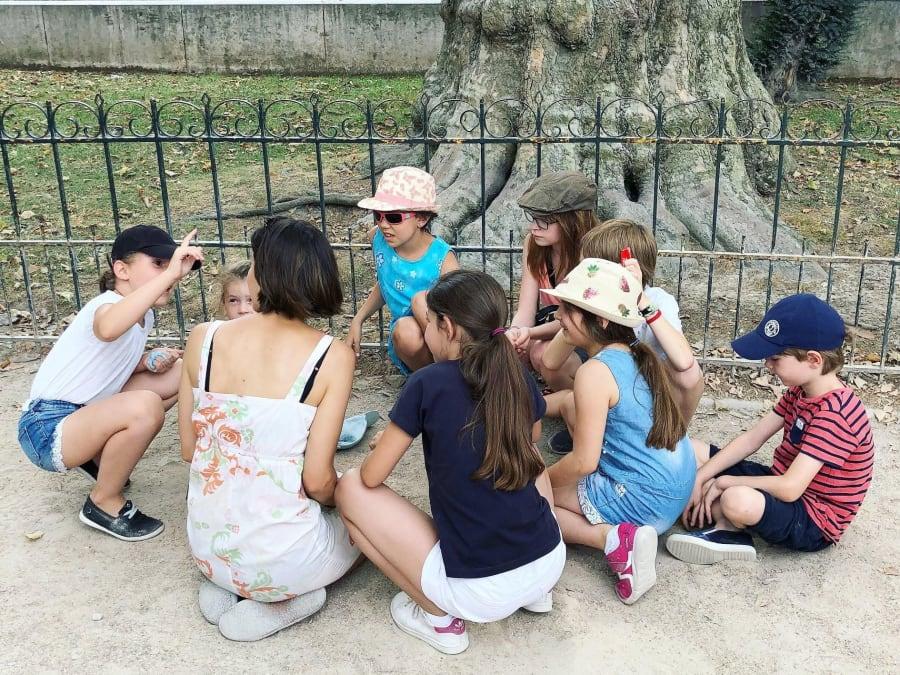 Anniversaire Énigmes au Jardin du Luxembourg 6-9 ans (Paris 5e)