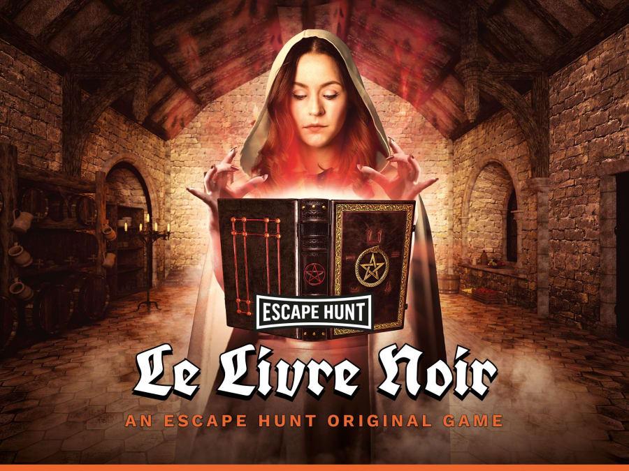 """Escape Game """"Le Livre Noir"""" à Metz (57)"""