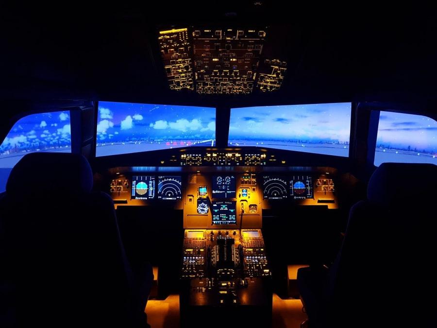 Simulateur de vol A320 à Lille