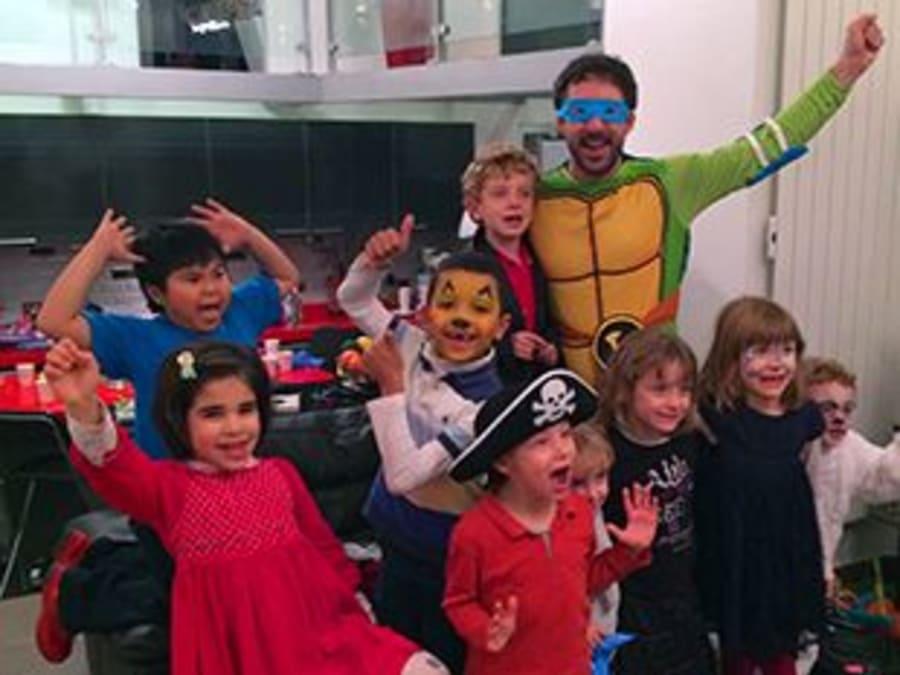 Anniversaire Tortues Ninja 6-9 ans à domicile (IDF)