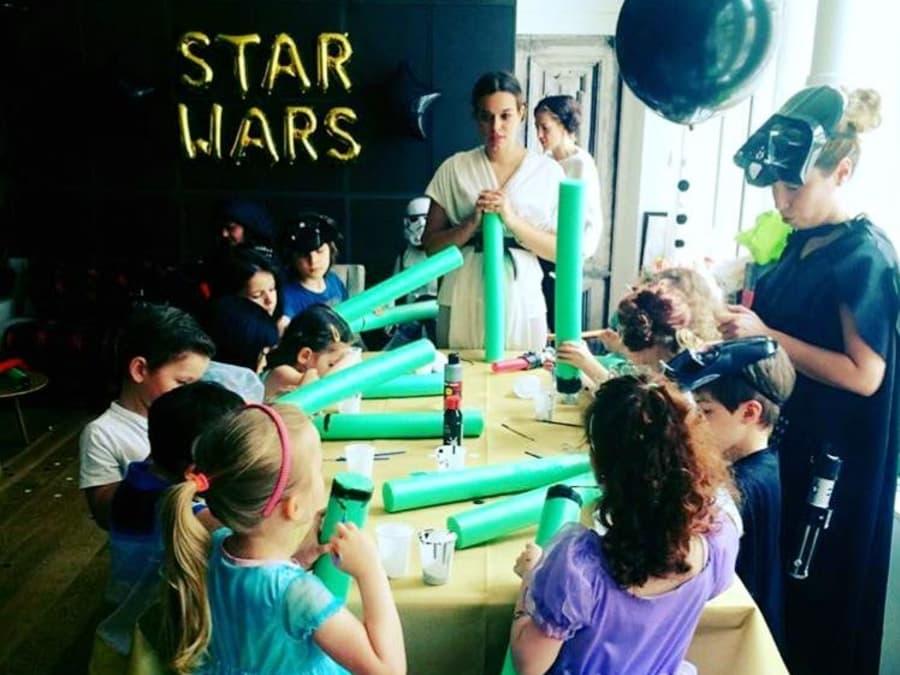 Anniversaire Star Wars 6-12 ans à domicile
