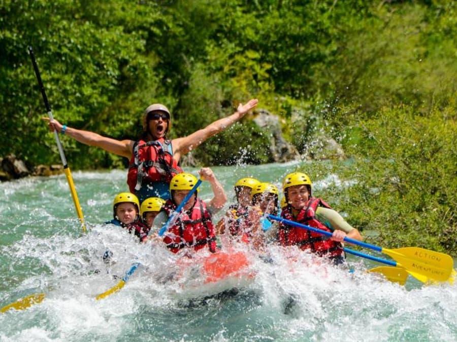 """Descente """"sport"""" de 2h30 en rafting dans les Gorges du Verdon"""