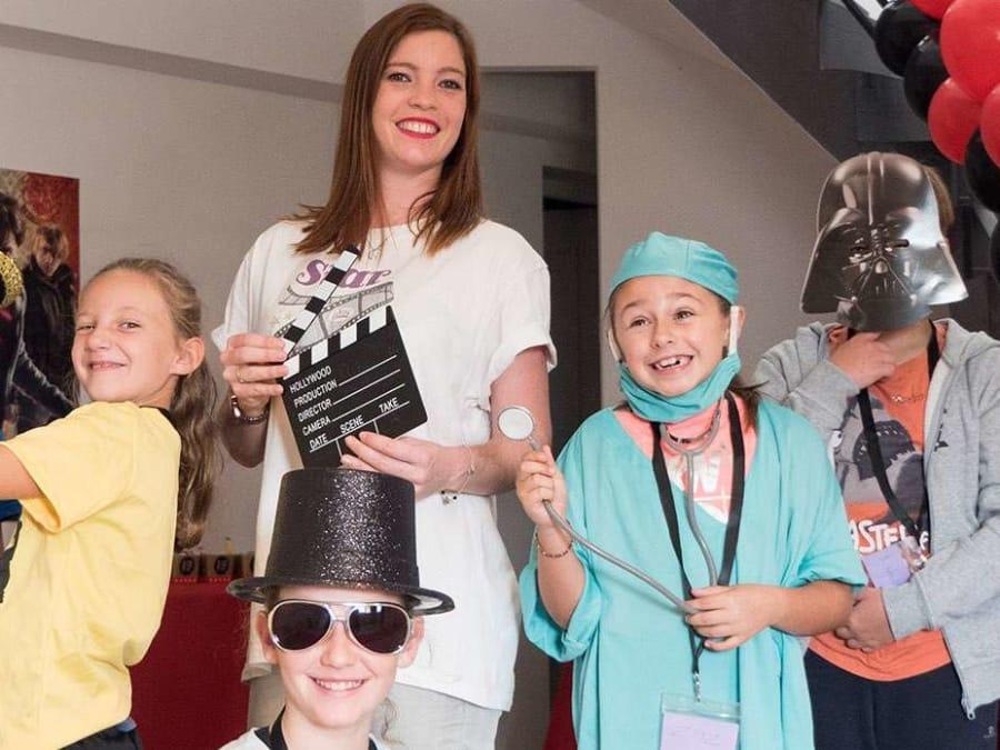 Anniversaire Star de Cinéma 6-12 ans à domicile (IDF)
