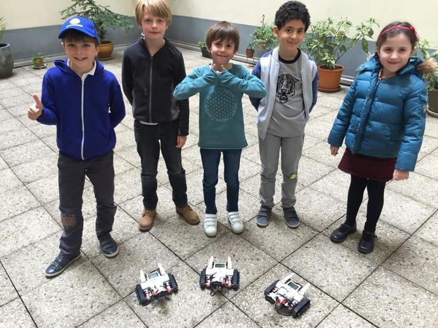 Anniversaire Robots Lego Mindstorms à domicile