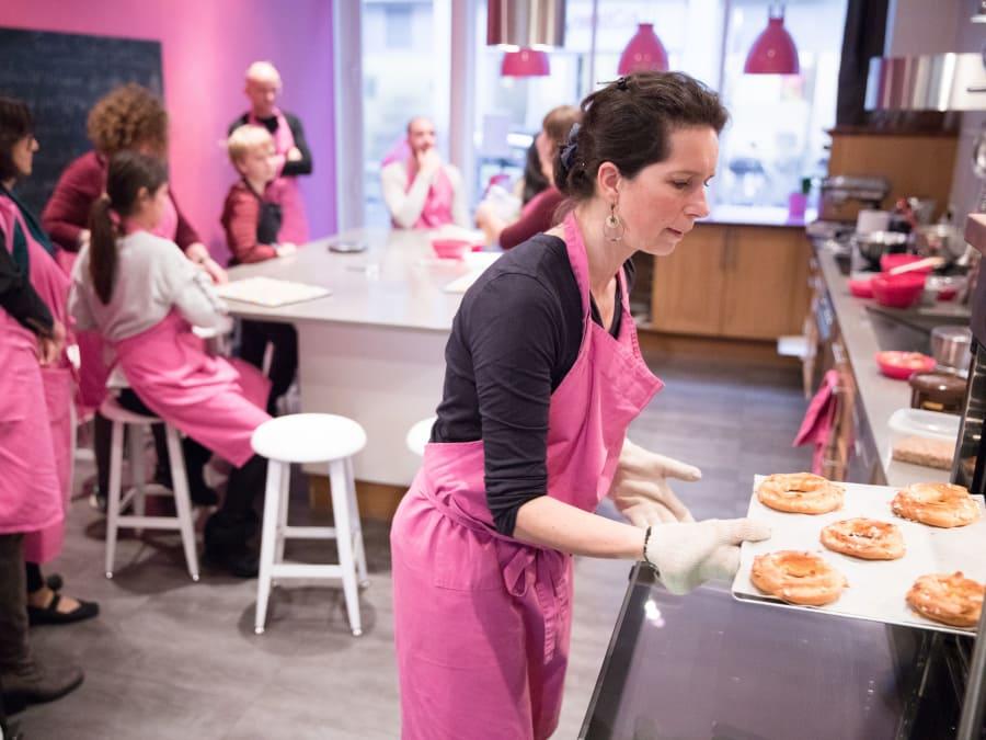 Cours de cuisine réaliser et déguster ses créations (75017)