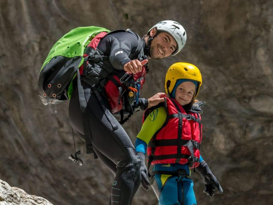 Parcours randonnée aquatique découverte, Gorges du Verdon