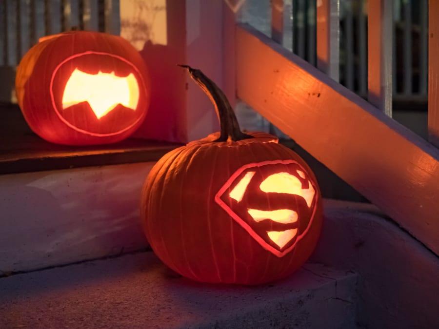 Atelier citrouilles Halloween pour les Super Héros en herbe