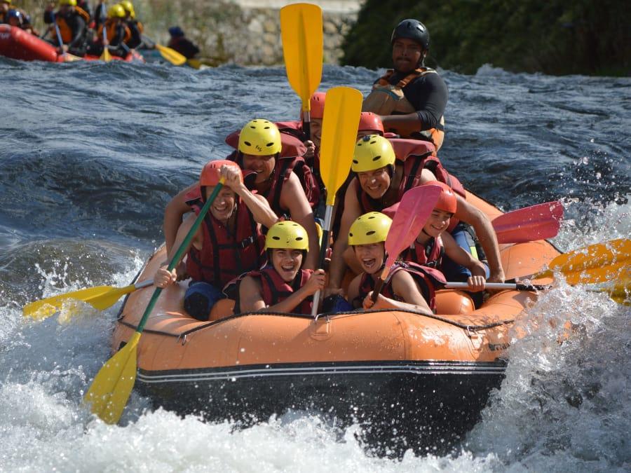 Sortie Rafting sur le Rio Garona, niveau intermédiaire