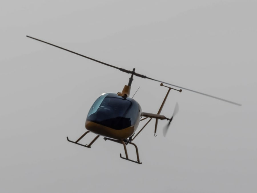 Vol en helico au-dessus de Chamonix Mont-Blanc (74)