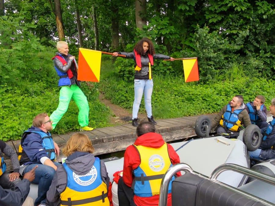 Rallye Nautique sur zodiac à Bougival (78)