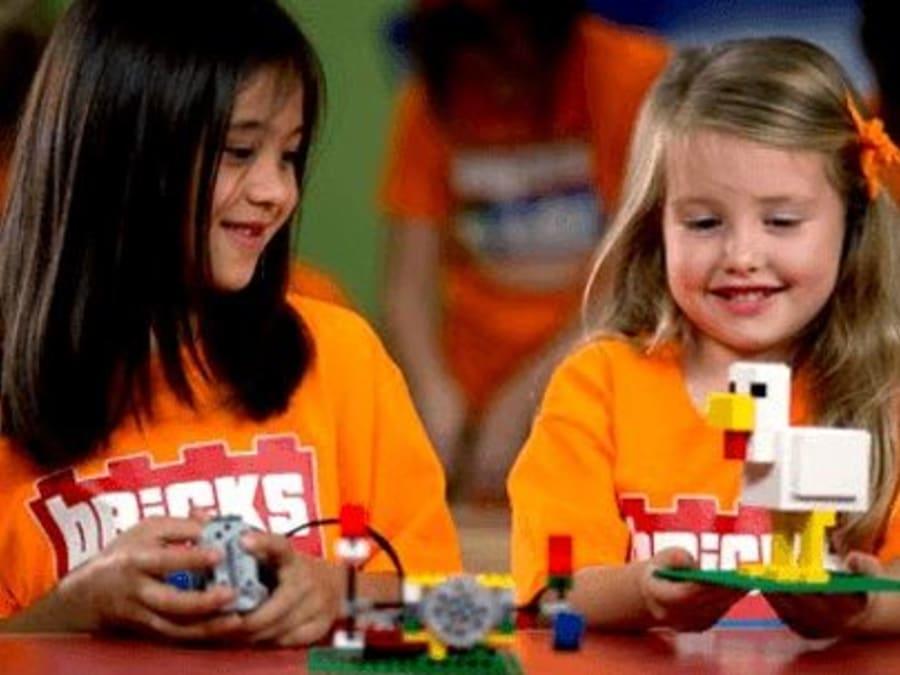 Atelier créatif LEGO® pour enfants en entreprise