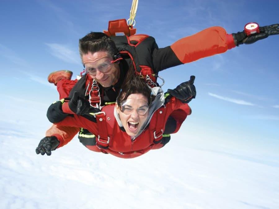 Saut parachute en tandem à Carcassonne