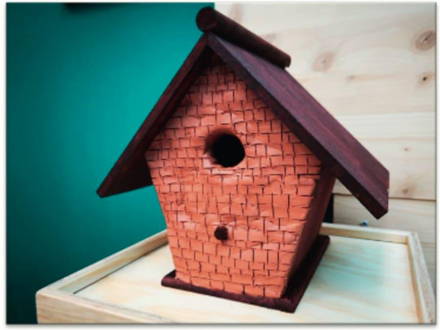 Atelier Créatif enfant Nichoir pour oiseaux Truffaut Herblay