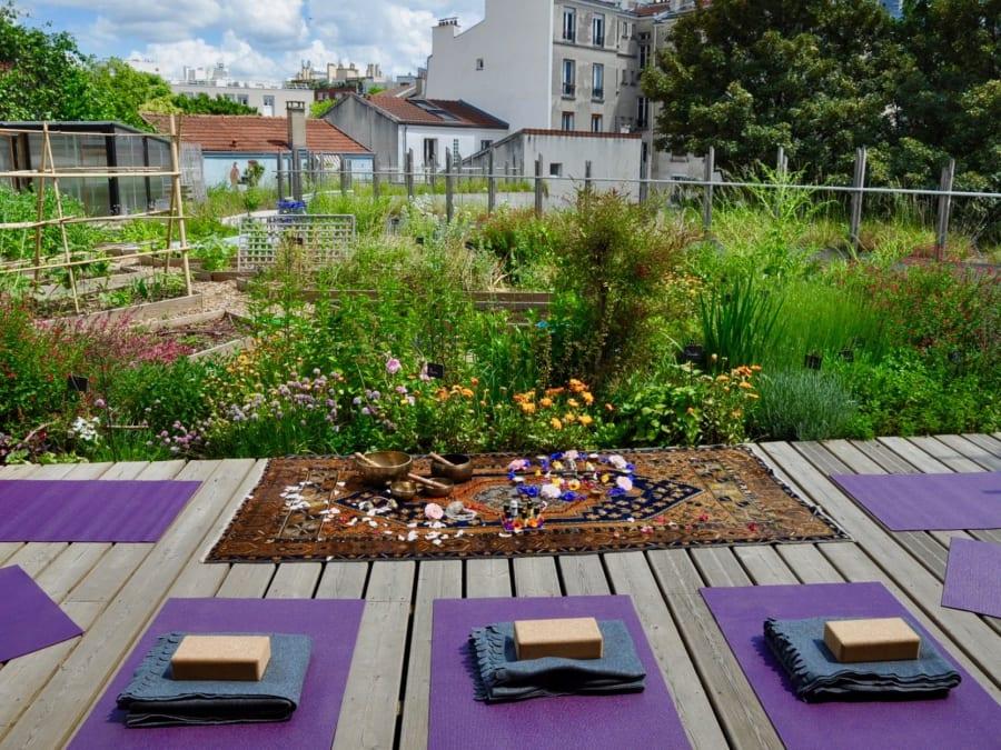 Séance Yoga & Huiles essentielles dans un jardin suspendu
