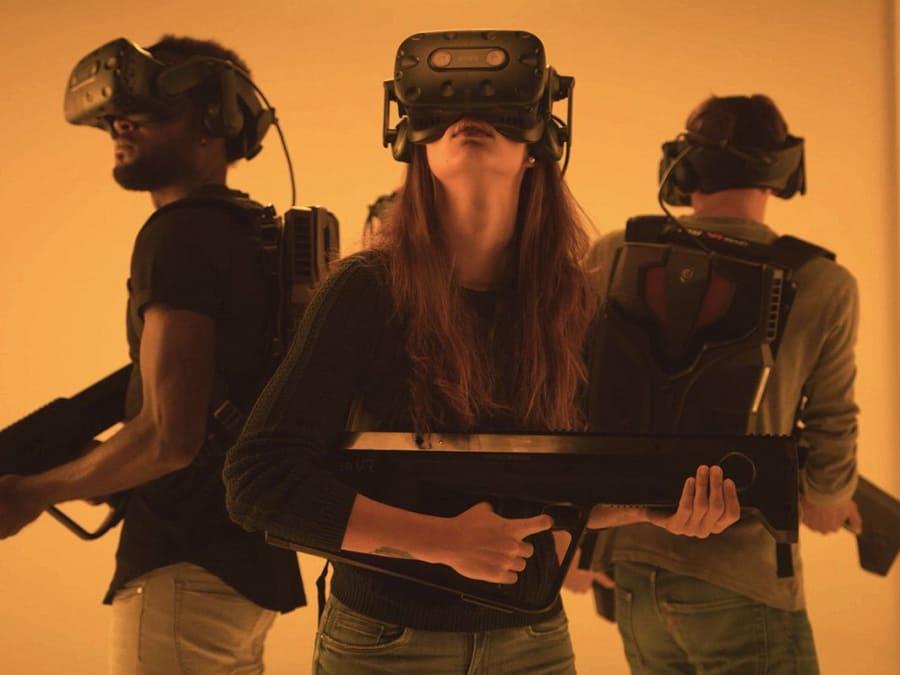 Parc d'aventures en Réalité Virtuelle à Paris 19ème