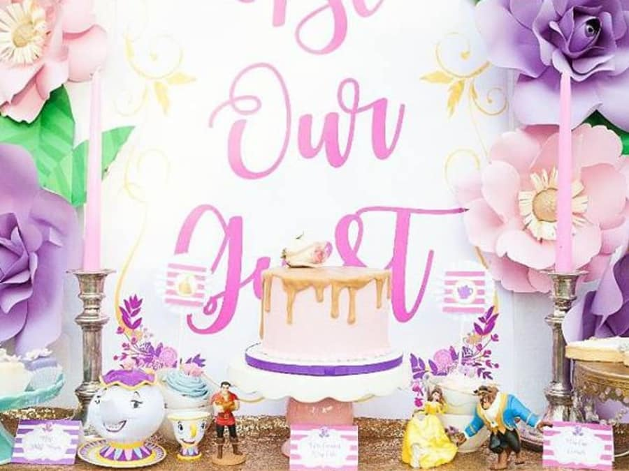 Anniversaire La Belle et La Bête 4-9 ans à domicile (IDF)