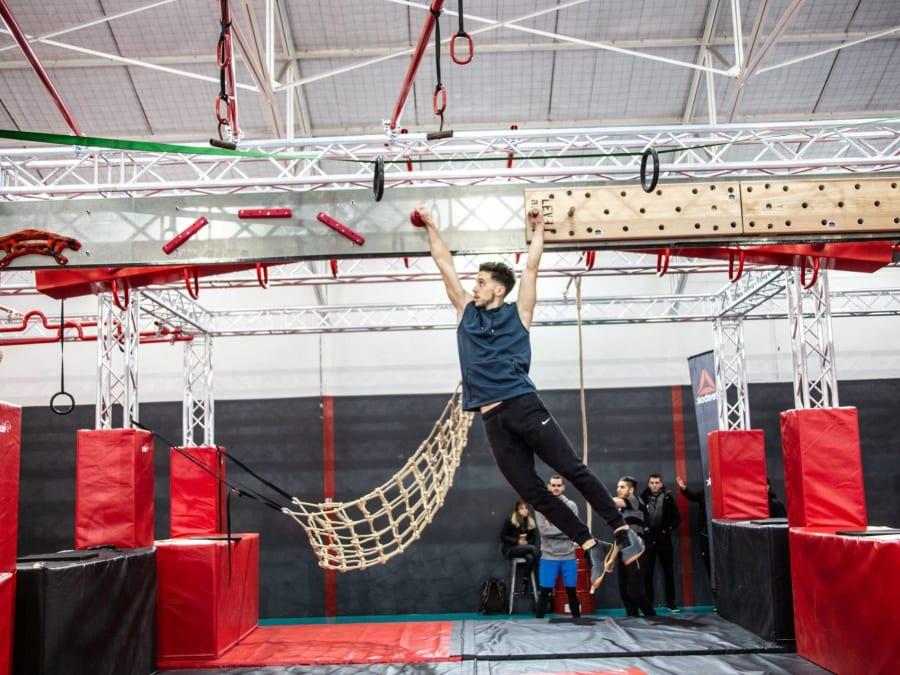 Parcours Ninja Warrior spécial EVG/EVJF à Villeurbanne (69)