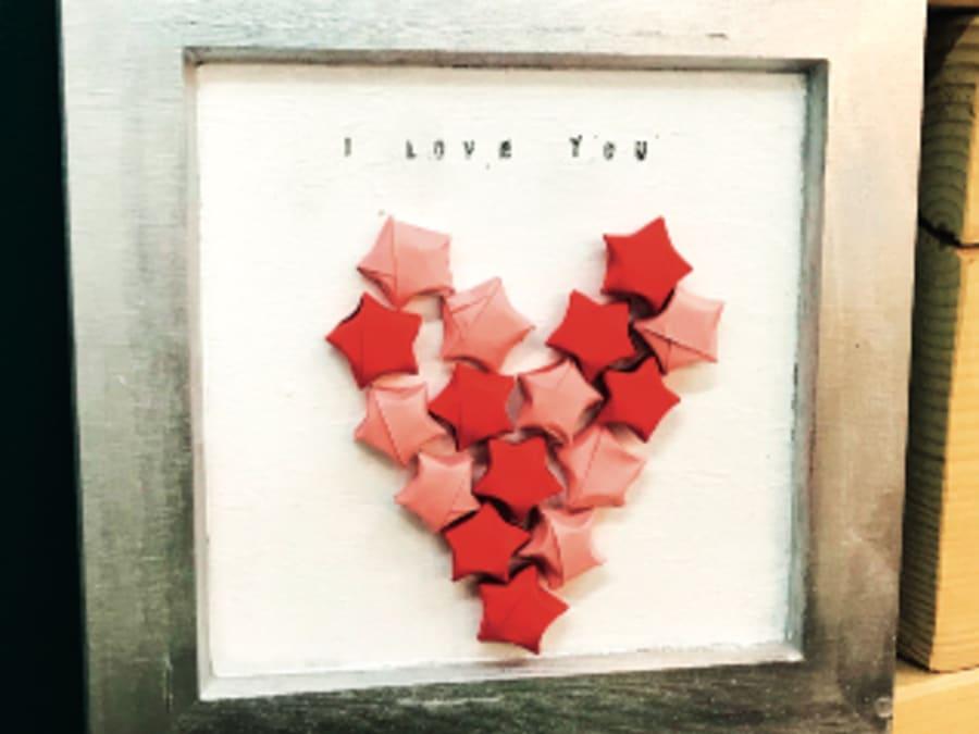 Atelier cadre Origami Saint Valentin, Truffaut Plaisir (78)
