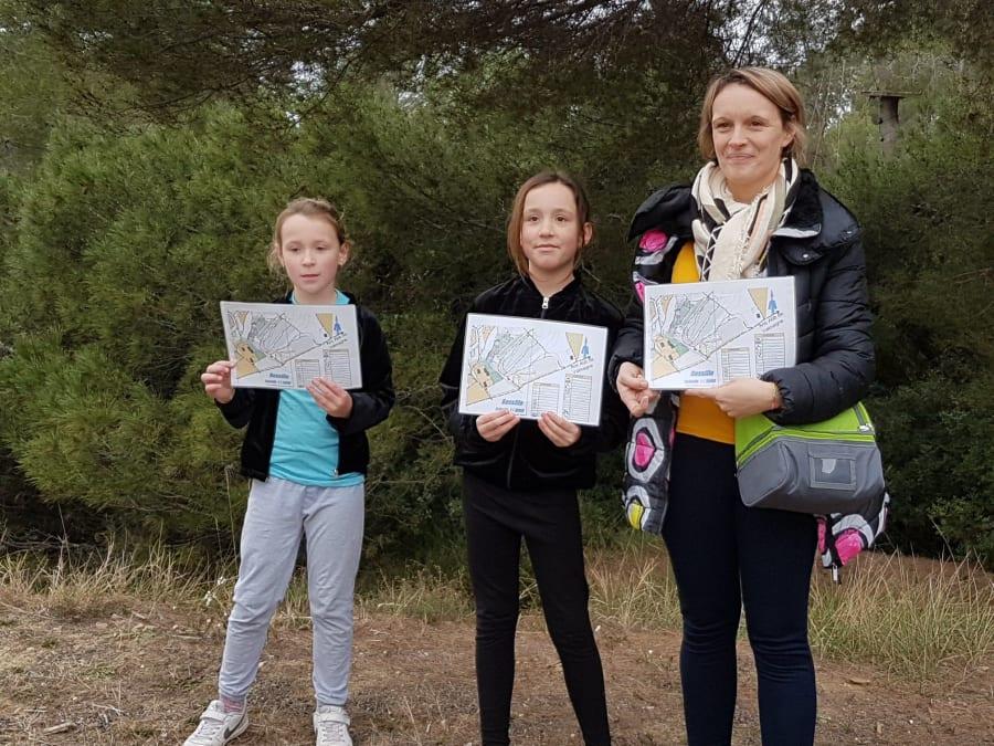 Jeux de piste / Course d'orientation proche de Sète (Hérault)