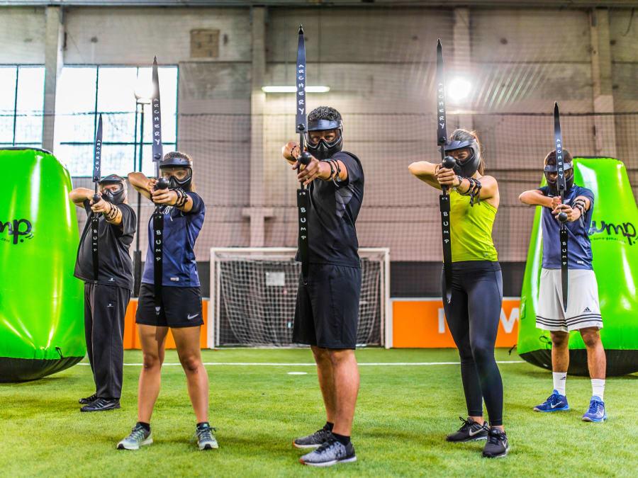 Team Building Bubble ou Archery Bump à Grenoble (38)