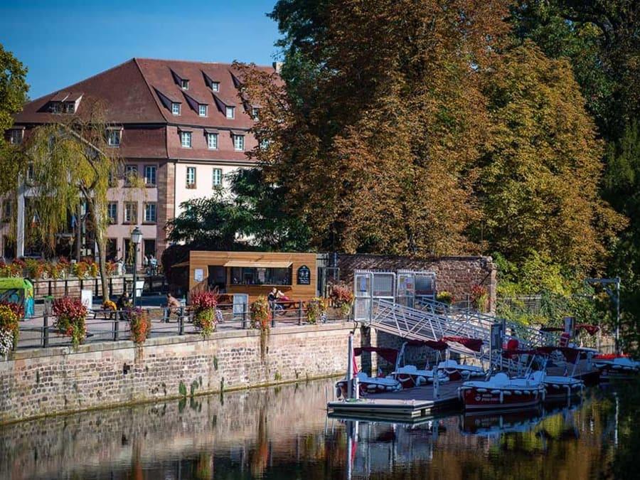 Location de bateau électrique à Strasbourg (67)