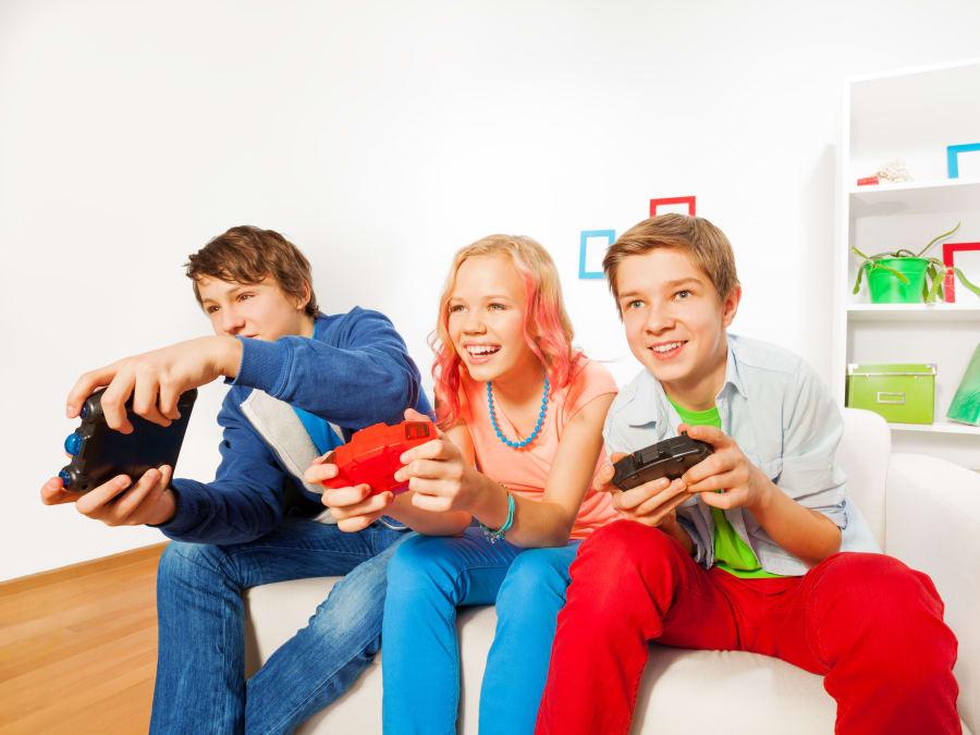 Anniversaire Gaming 6-14 ans à domicile