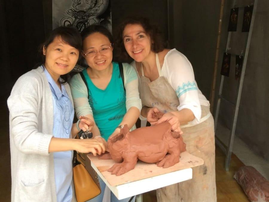 Atelier découverte de la sculpture et du modelage à Paris 16ème