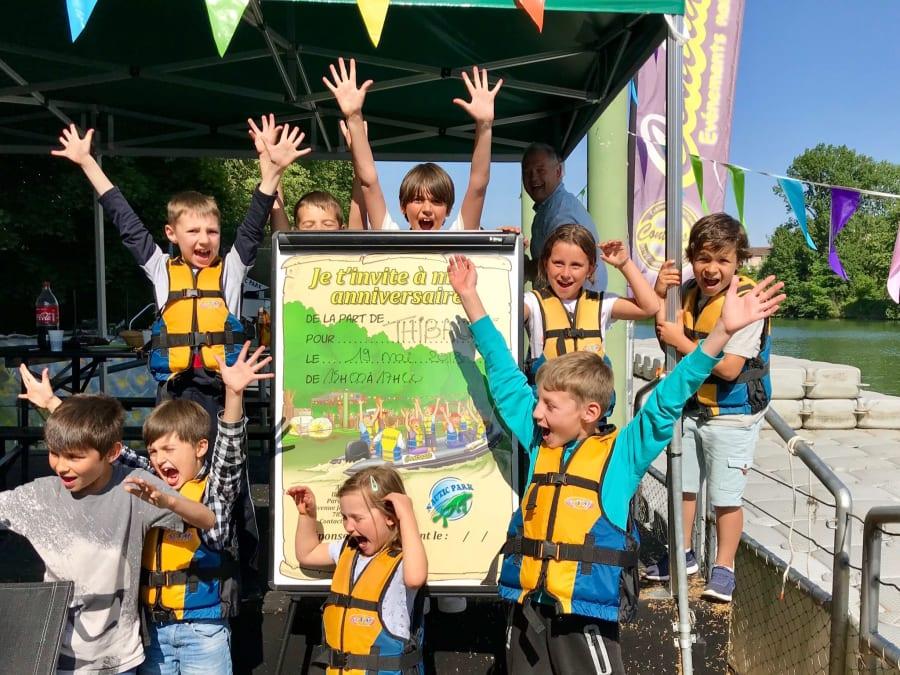 Anniversaire activités nautiques 3-12 ans à Bougival (78)