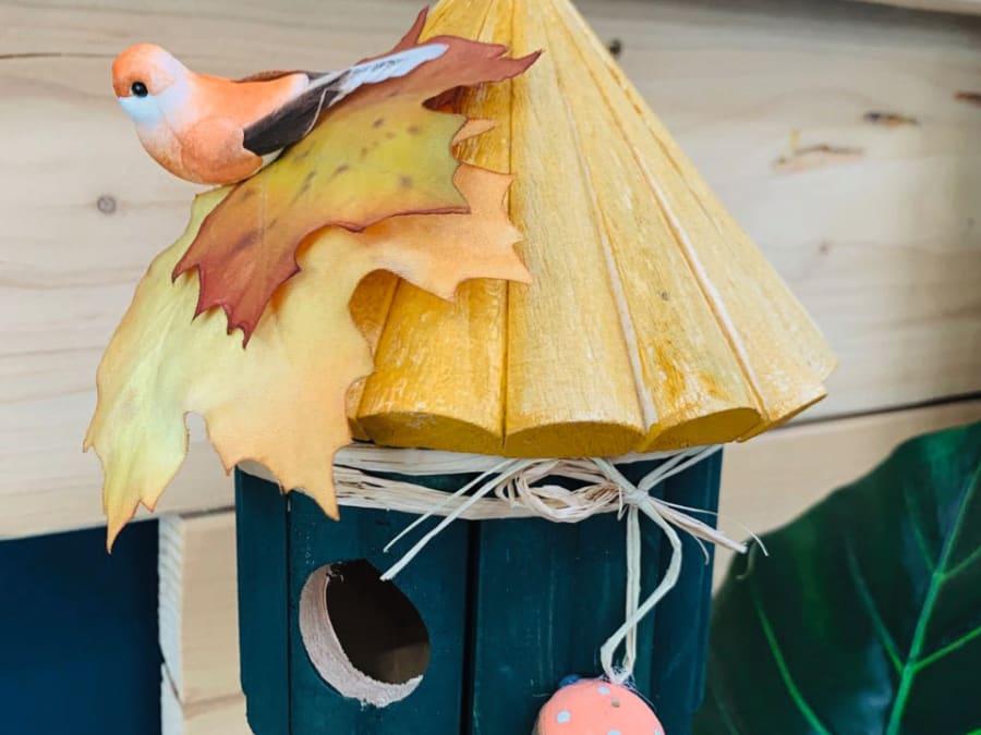 Atelier enfant nichoir pour oiseaux chez Truffaut Herblay (95)