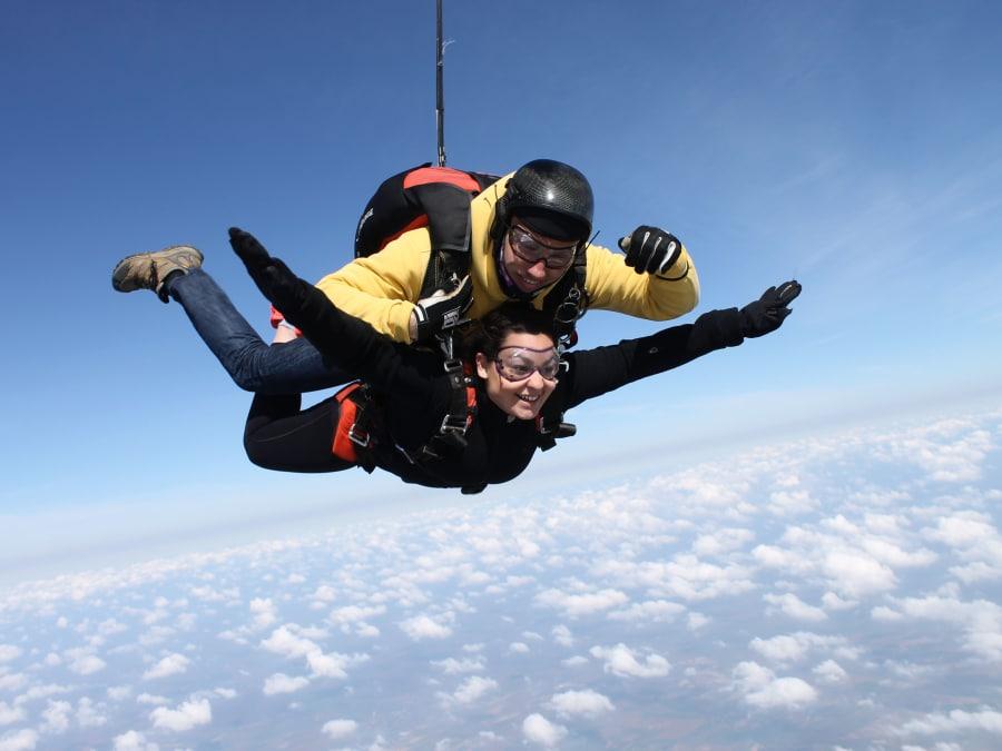 Saut en parachute en tandem proche de Paris