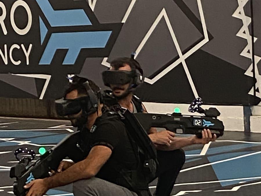 Laser Game Virtuel Zero Latency à Saint Herblain (44)