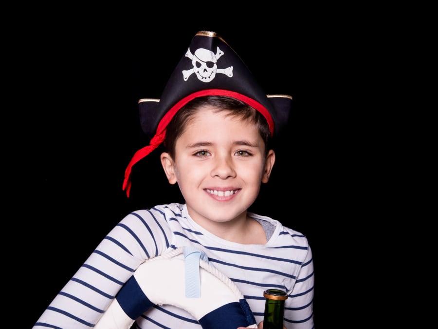 Anniversaire Pirates & Corsaires 3-12 ans à domicile (IDF)