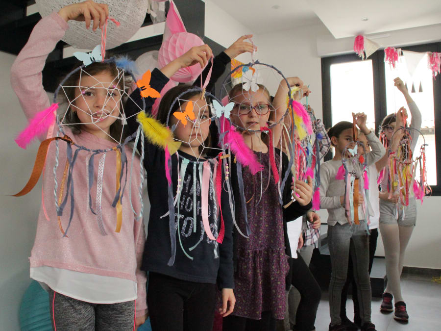 Anniversaire Créatif : Attrape-rêves DIY à domicile (13)