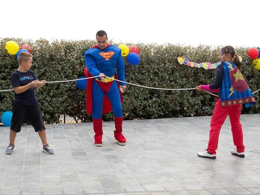 Anniversaire Superman 3-12 ans à domicile (83 & 06)