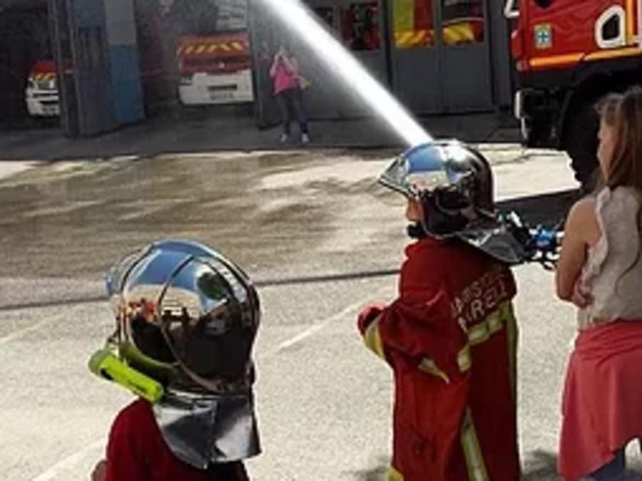 Anniversaire Pompiers 4-12 ans à domicile (33 & 24)
