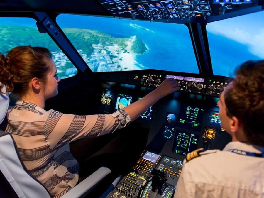 Stage anti-stress en avion sur simulateur à Lyon