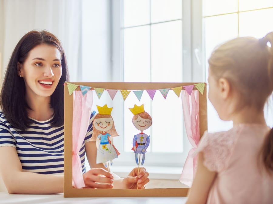 Anniversaire Spectacle de Marionnettes 4-7 ans à domicile